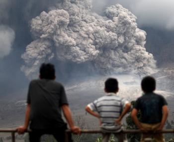суперизвержение вулкана в Чили