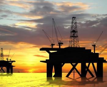 нефтяные вышки в Черном море