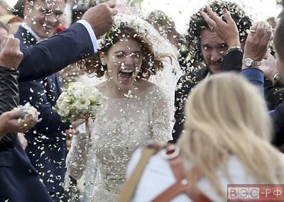 Свадьба Лесли и Харингтона