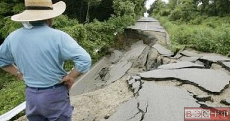 фрекинг, землетрясение