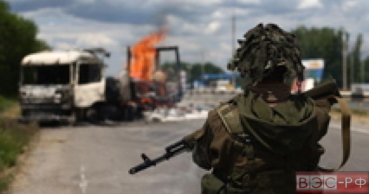 ополченцы востока Украины