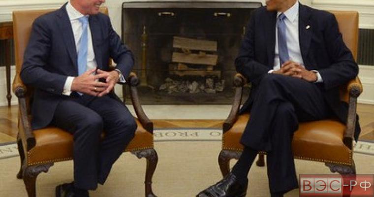 НАТО, США, Генсек НАТО Андерс Фог Расмуссен, президент США Барак Обама