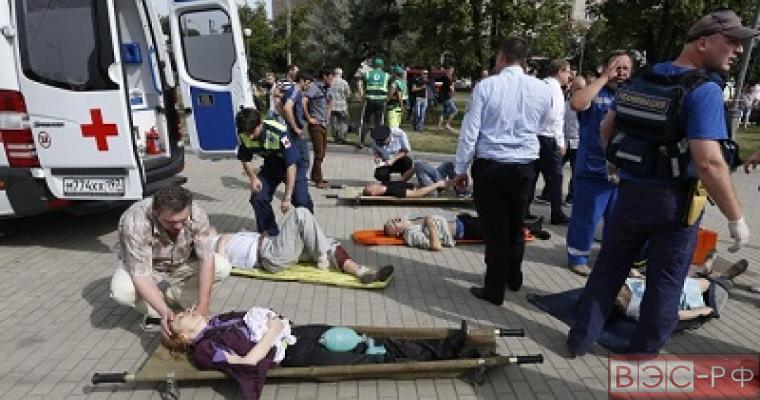 Хроника событий аварии на синей ветке московского метро