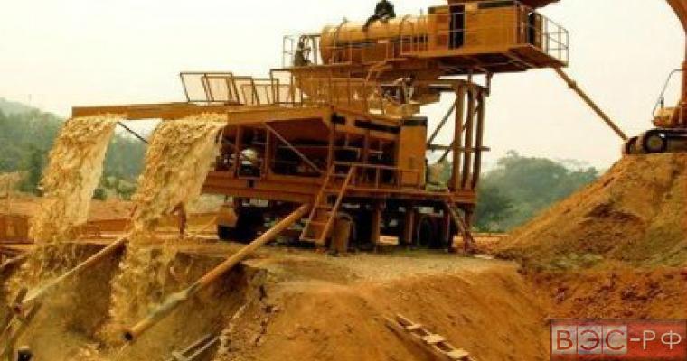 Добыча золота в Забайкалье в 1-м полугодии выросла почти на 40%
