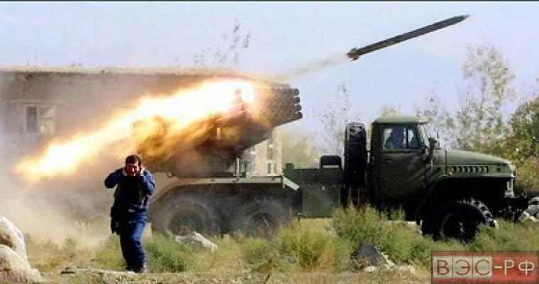 Украинская армия обстреляла жилой сектор Горловки из Града, есть пострадавшие