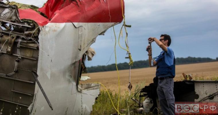 Минобороны России: СБУ предоставила фальшивые снимки с места крушения Боинга-777