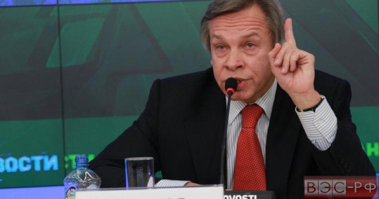 Пушков: Обвинения генсекретаря НАТО ополченцев в крушении Boeing-777 -  риторика без доказательств