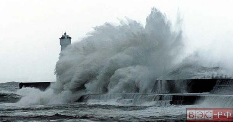 на Приморье надвигается тайфун