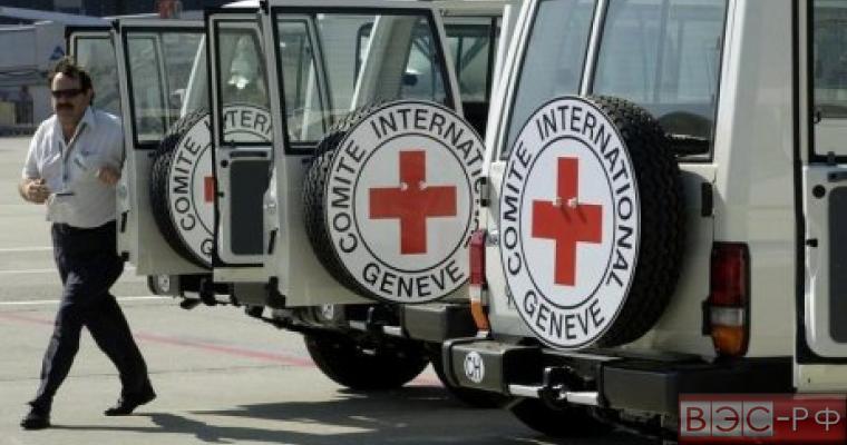 Красный Крест сопроводит гуманитарный груз из России в Украину
