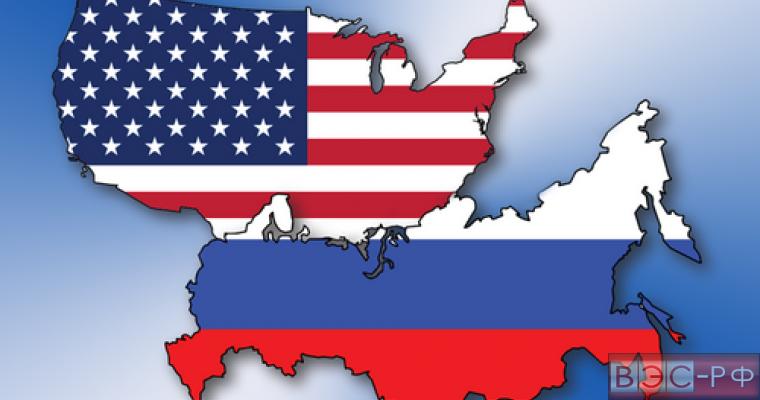 карта США граничит с Россией