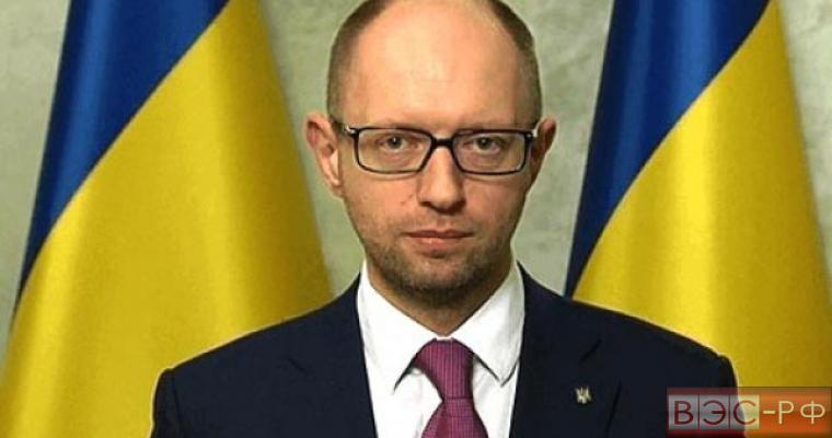 Арсений Яценюк, премьер министр Украины