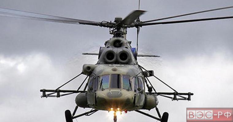 Российский вертолет Ми-8 действительно был сбит