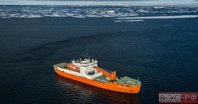 корабль Роснефть