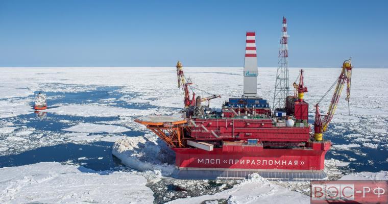 Нефтяная платформа Приразломная, Арктика