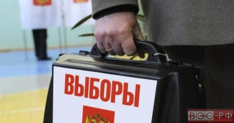 Выборы кейс чемодан надпись