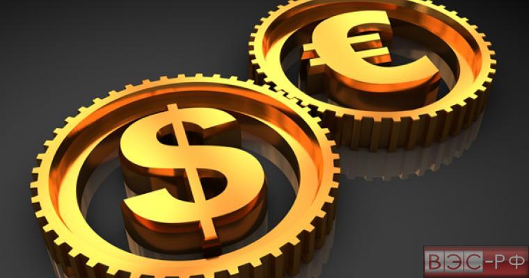 Курсы евро и доллара, достигнув исторических максимумов, пошли вниз