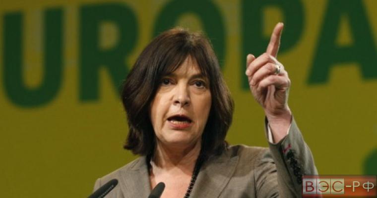 Ребекка Хармс «Зеленые - Европейский свободный альянс»