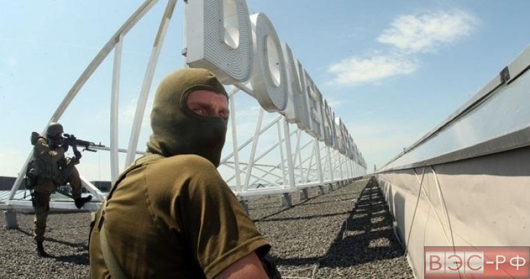 В Донецке ополченцы захватили аэропорт