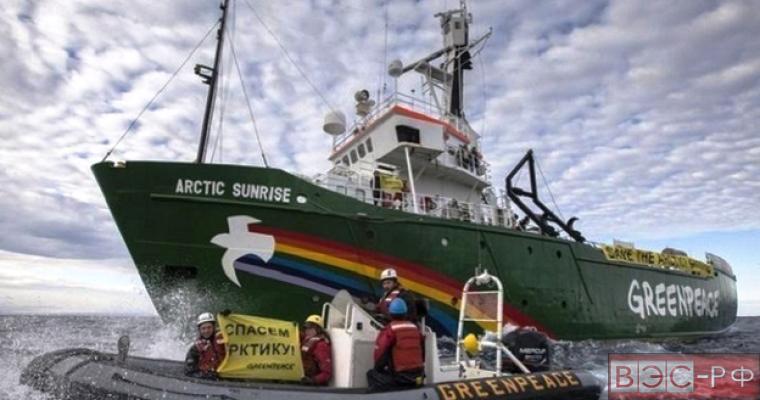 """Greenpeace продолжает мешать """"Газпрому"""""""