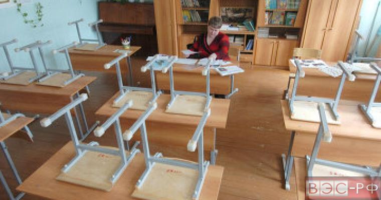 школьные парты стулья пустой класс