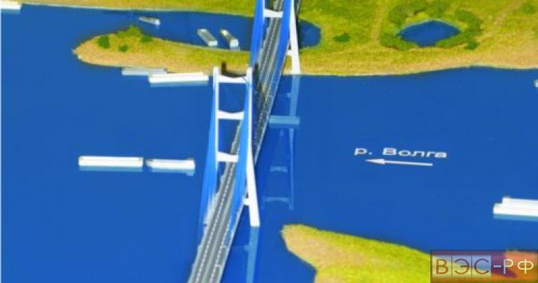 Мост между Нижним Новгородом и Бором