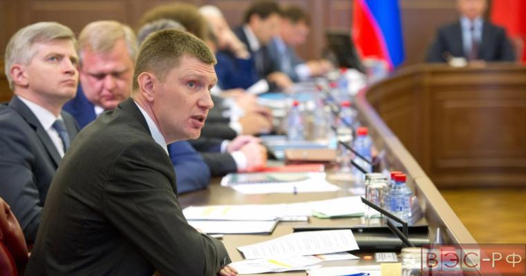 заседании правительства Москвы, Максим Решетников