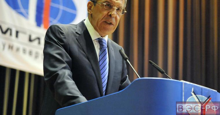 Сергей Лавров выступил с поздравительной речью на 70-летии МГИМО