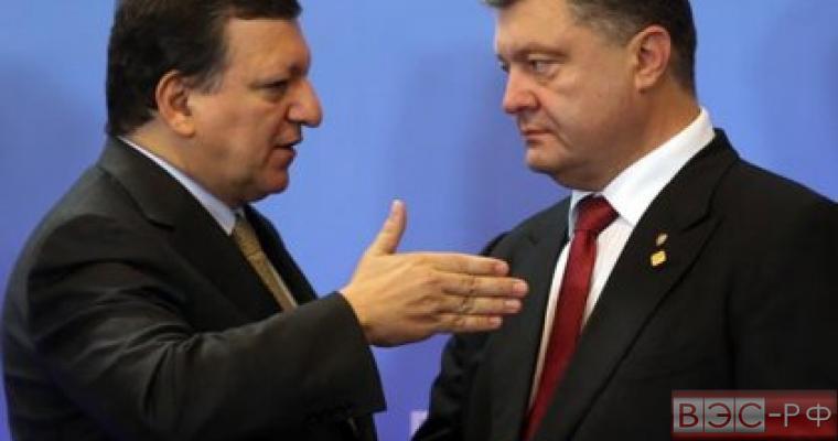 Жозе Мануэл Баррозу, Пётр Алексеевич Порошенко