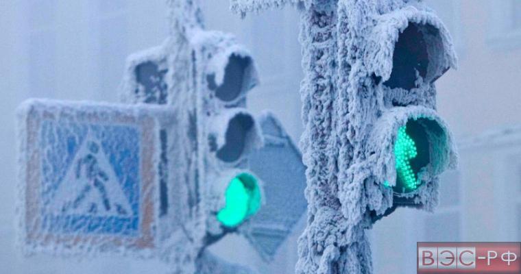 холод, снег, замёрзли, светофоры