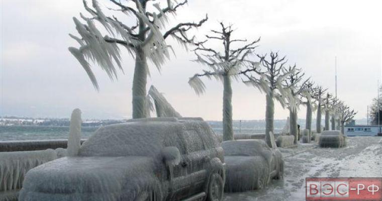 Россию ждет наредкость морозная зима
