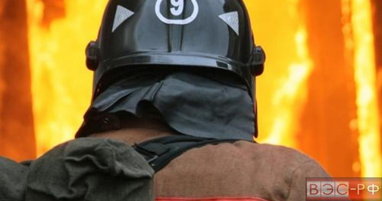 Пожар во Владимире во время Хеллоуина