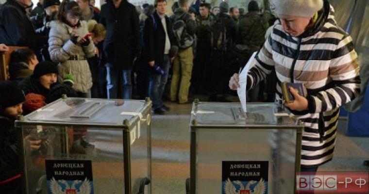 Выборы в ДНР и ЛНР проходят без нарушений
