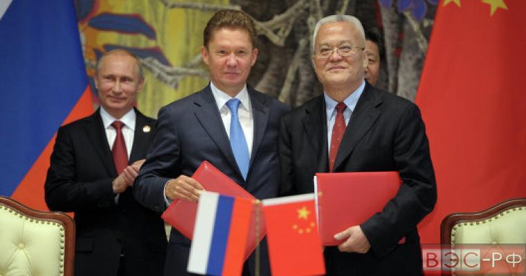 Объем поставок газа в Китай может превысить экспорт в Европу