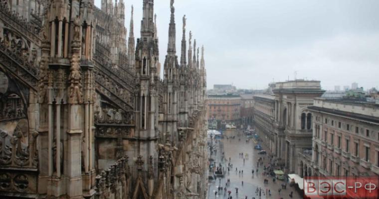 В Милане сильные ливни затопили метро
