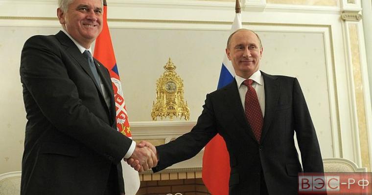 Президент Сербии отказался вводить санкции против России