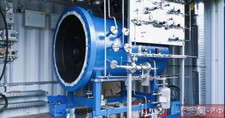 установка для синтезирования бензина из воды и углекислого газа