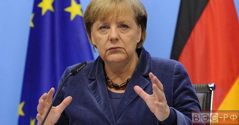 Ангелы Меркель, канцлер Германии