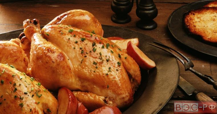 Россельхознадзором с 5 декабря вводится запрет на поставки мяса птицы из США