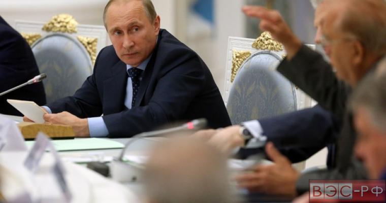 Президент Путин на заседании по науке и образованию