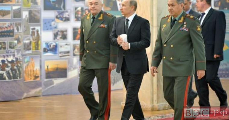 Путин поставил задачи перед армией