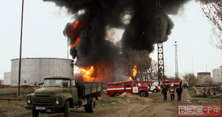 В Дагестане взорвался бензовоз