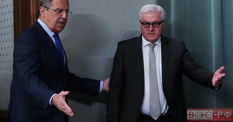 Главы МИР РФ и ФРГ