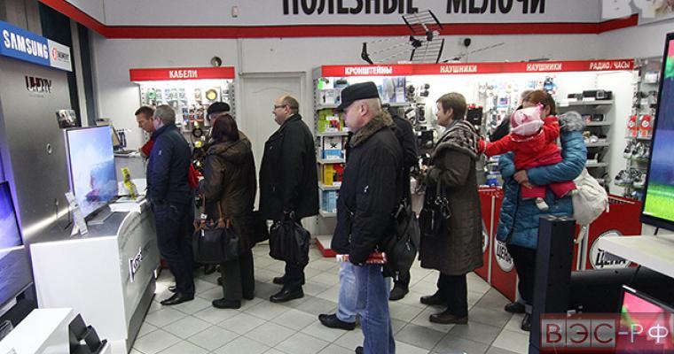 Ритейлеры отмечают резкое снижение продаж