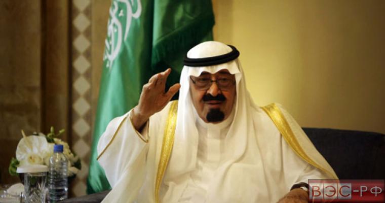 Рынок нефти оперативно отреагировал на смерть короля Саудовской Аравии