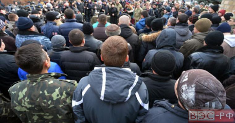 «Народное вече солдат-добровольцев» в Киеве