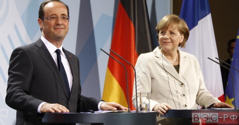Олланд заявил, что отправится с Меркель в пятницу в Москву