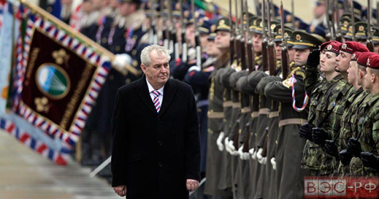 Земан надеется на отмену антироссийских санкций