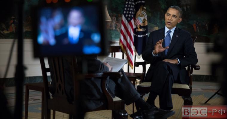 Обама дает интервью