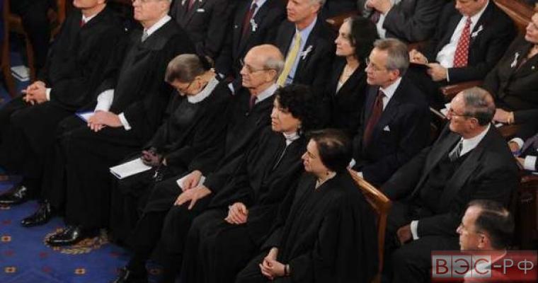 судья Гинзбург уснула на речи Барака Обамы