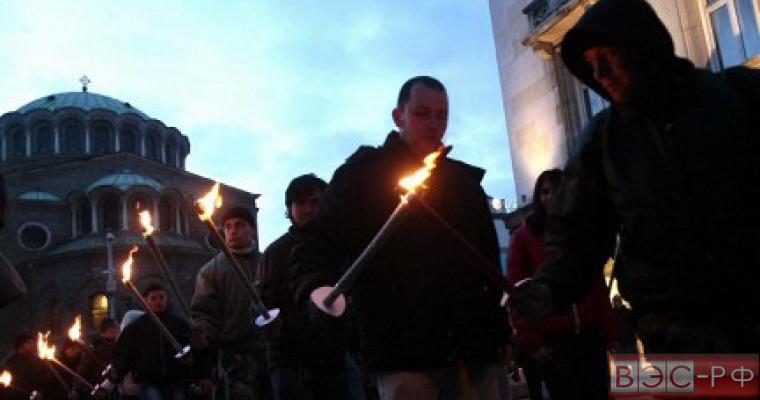 Марш неонацистов в Софии